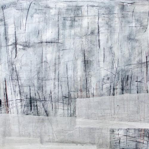 (Sold) Morass, 2x60x82cm 2.2015