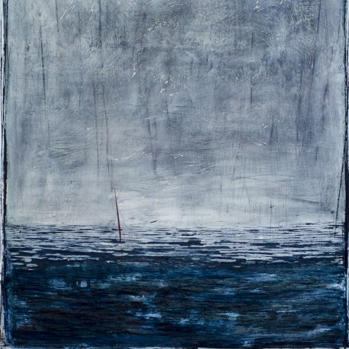 (Sold) Abyss, Oil on MDF, 85x110cm, 2014