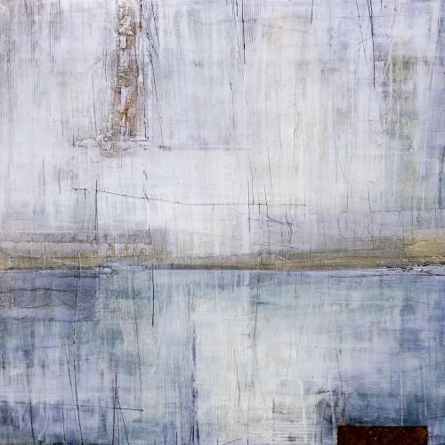 What remains, 110x140cm, Sekatekniikka läpivärjätylle MDF levylle, 2016