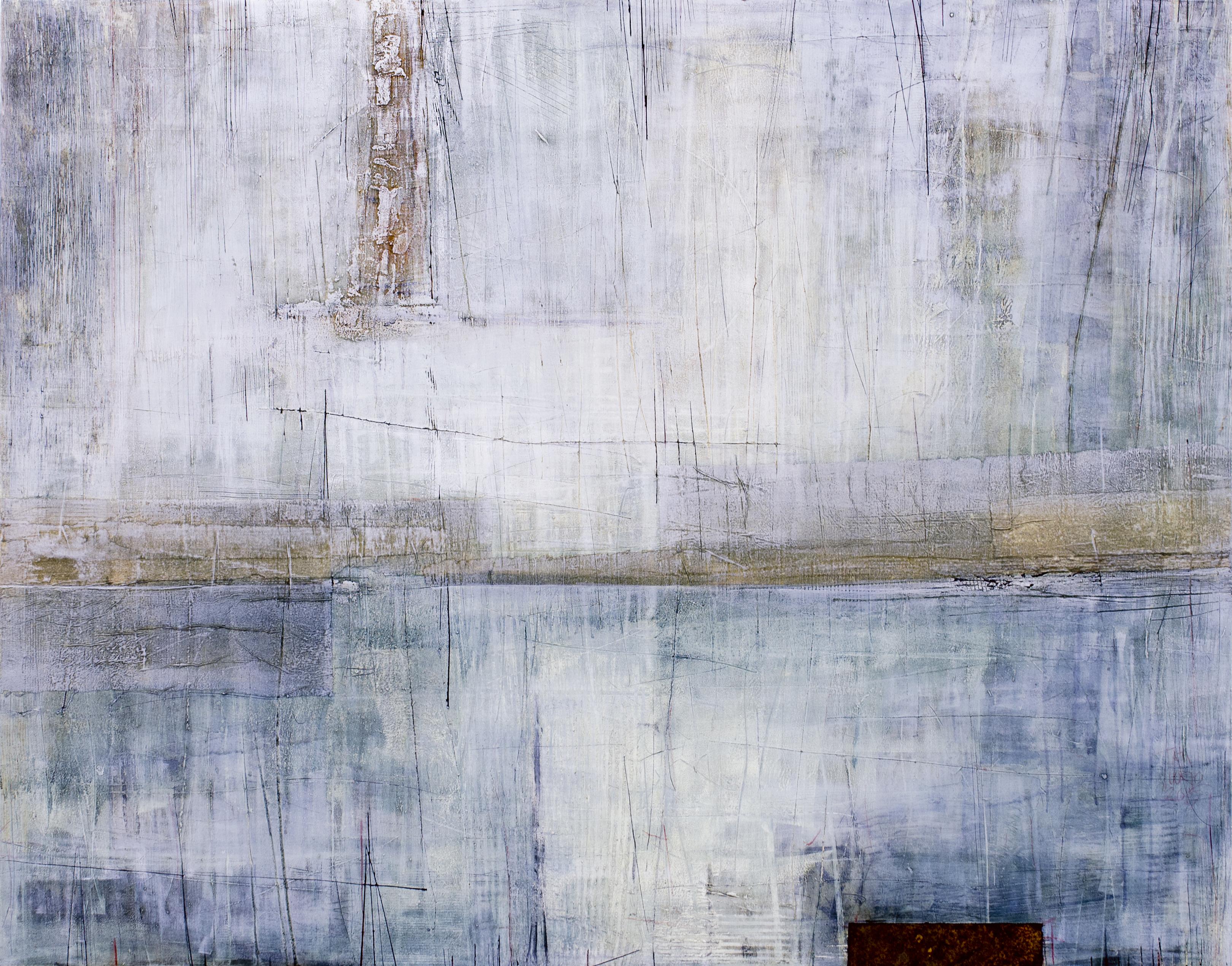 (Sold) What remains, 110x140cm, Sekatekniikka läpivärjätylle MDF levylle, 2016
